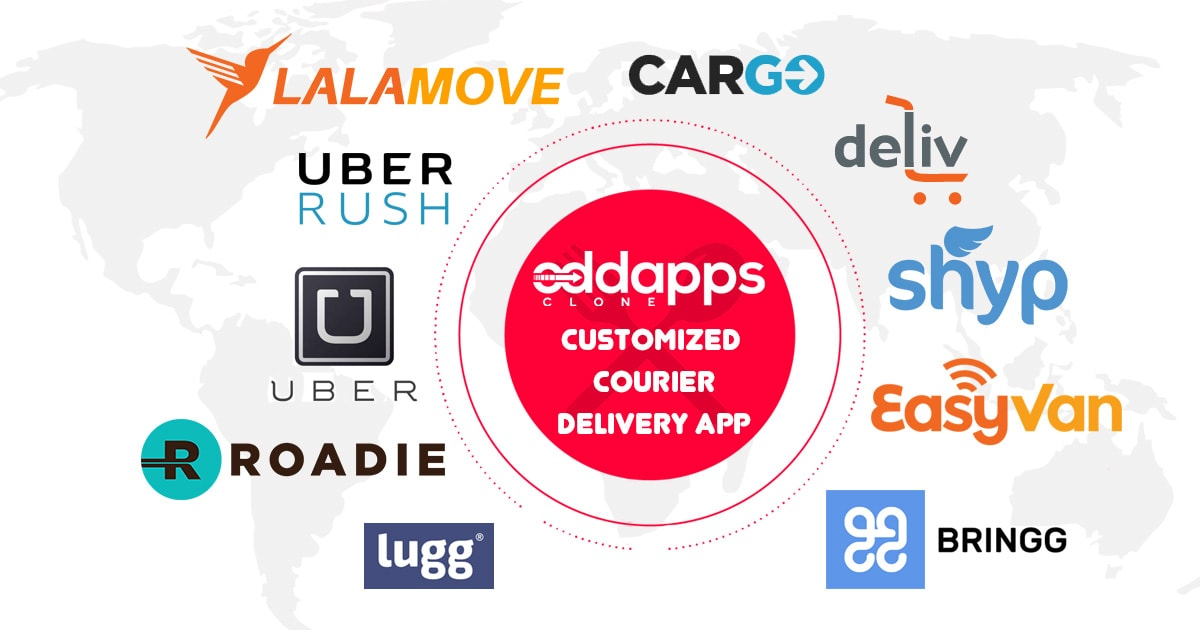 Uber for couriers | On-demand courier delivery app