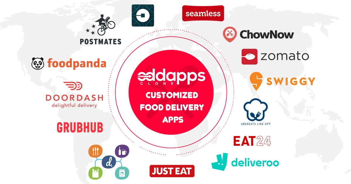 postmates clone uber for food delivery food delivery