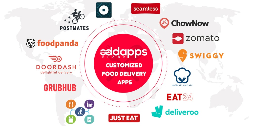 Postmates Clone | Uber for food delivery | Food delivery app like uber
